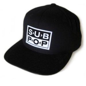 Official SUB POP Seattle Indie Rock Label Hat